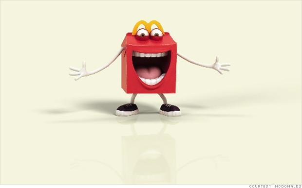 Mcdonalds Meal Box Mcdonald's Scary Happy Meal