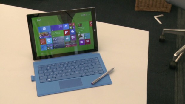 First look at Microsoft's new Surface