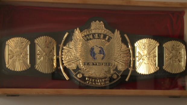 The champion of championship belt making