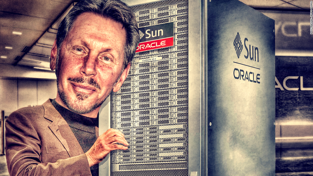 broke to billionaire larry ellison