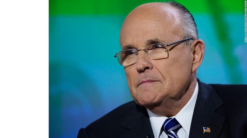 Rudy Giuliani: Cyberterrorism is 'a national security menace'