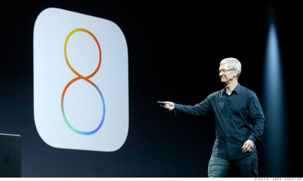 Apple anuncia el iOS 8, el OS X Yosemite y un 'kit' para la casa inteligente