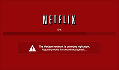 Netflix partner says Verizon slows traffic