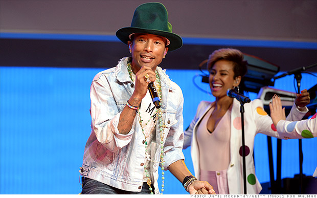 walmart shareholder meeting pharrell