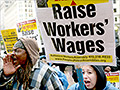 Strong support for raising minimum wage