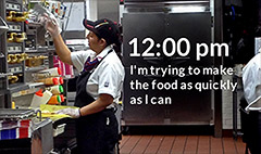 24 hours with a minimum wage worker