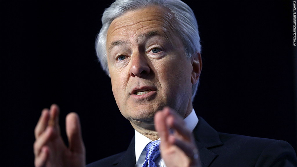 Wells Fargo CEO John Stumpf is out