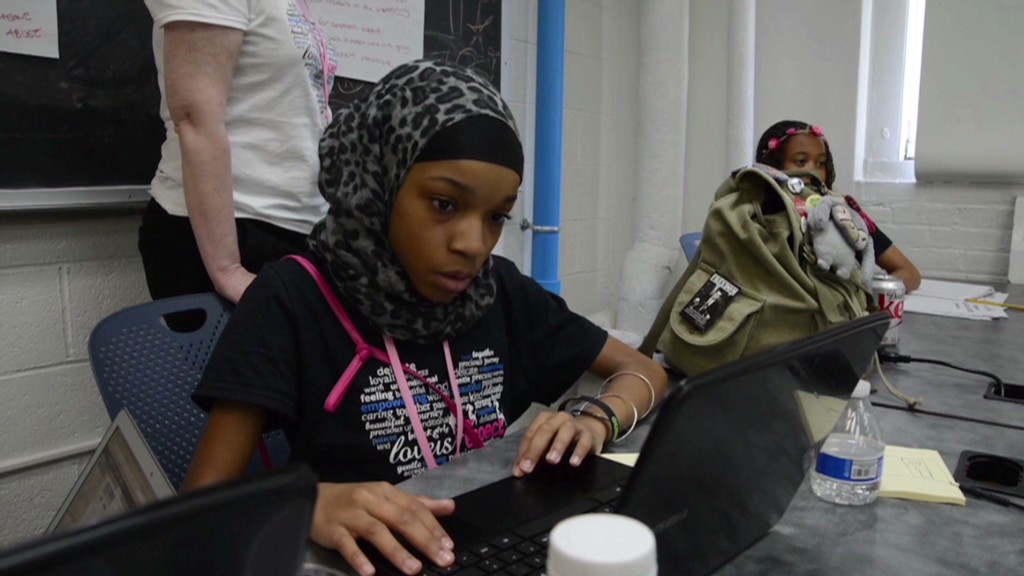 Black girls code for social change