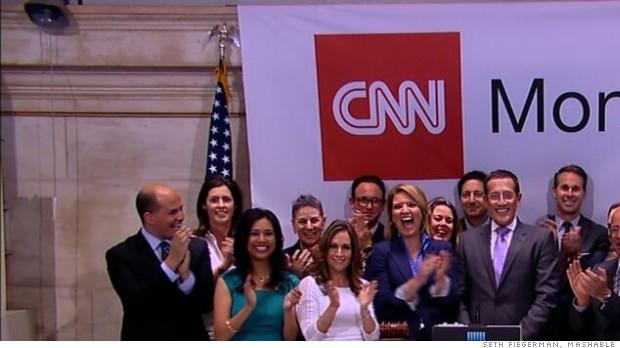 CNNMoney NYSE bell