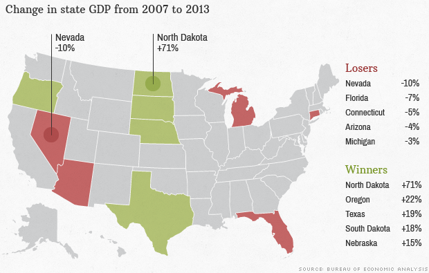 map fastest growing states