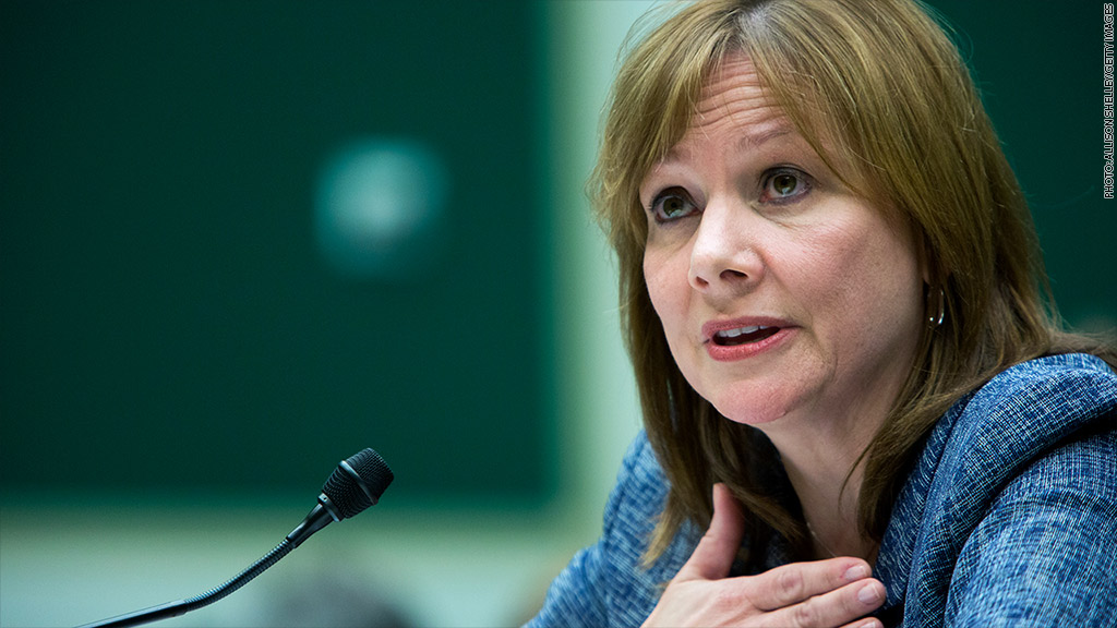 mary barra returns to capitol hill
