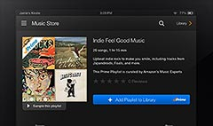 Amazon launches Prime Music