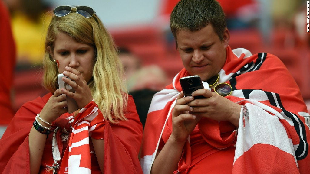 world cup social media