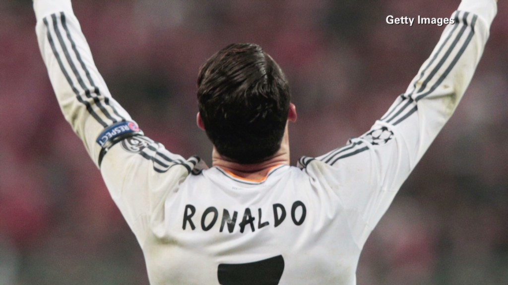 Ronaldo: World Cup's most marketable star