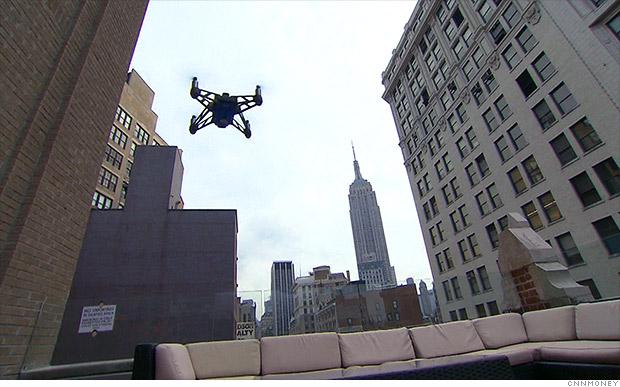 manhattan drones