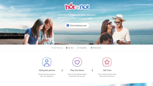See the new Hot or Not