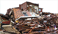 Which natural disaster will likely destroy your home?