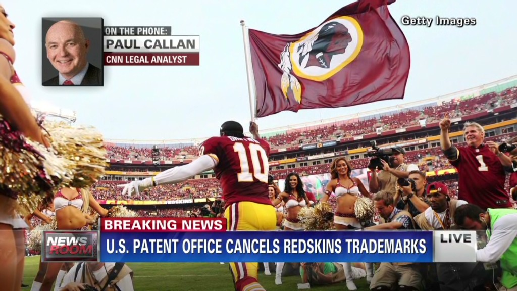 Redskins trademarks canceled