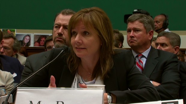 Lawmakers grill GM's Barra in D.C.