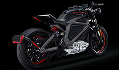 Harley-Davidson unveils its first electric hog