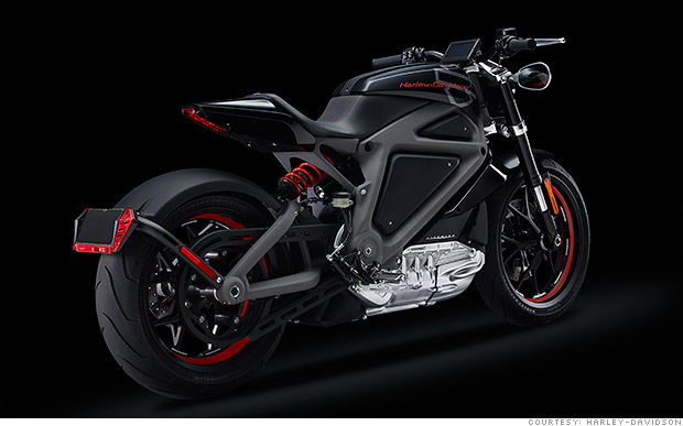 harley davidson unveils its first electric hog jun 19 2014. Black Bedroom Furniture Sets. Home Design Ideas