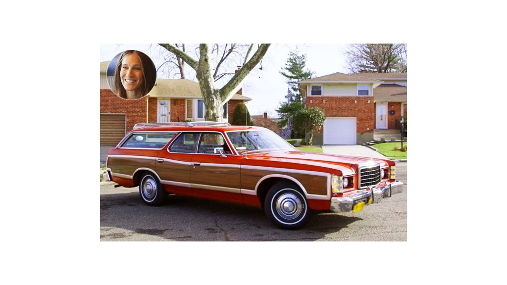 1976 ford country squire check out all the cool cars from comedians in cars getting coffee by. Black Bedroom Furniture Sets. Home Design Ideas