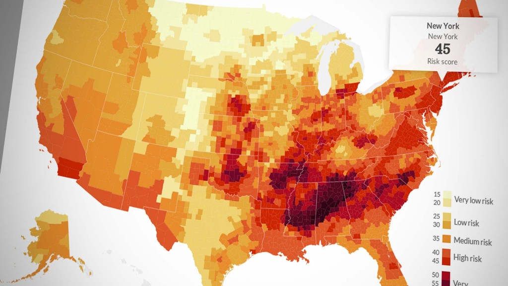 Natural disasters: The riskiest spots in the U.S.