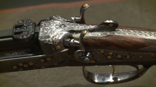 Hand-crafted collectible hunting guns