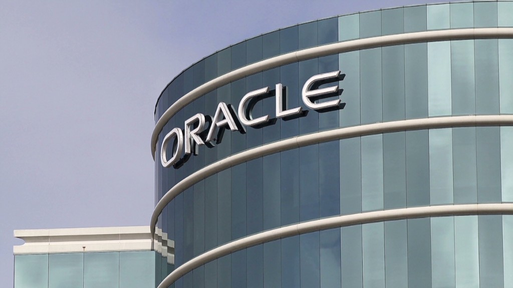 Oracle spends $5B on cash registers