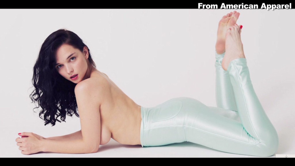 Will American Apparel ditch the racy ads?