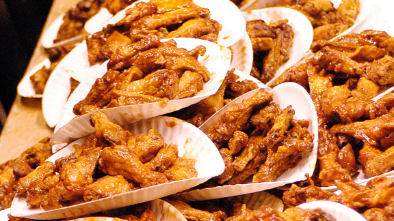 Super Bowl's big winner: Wings!