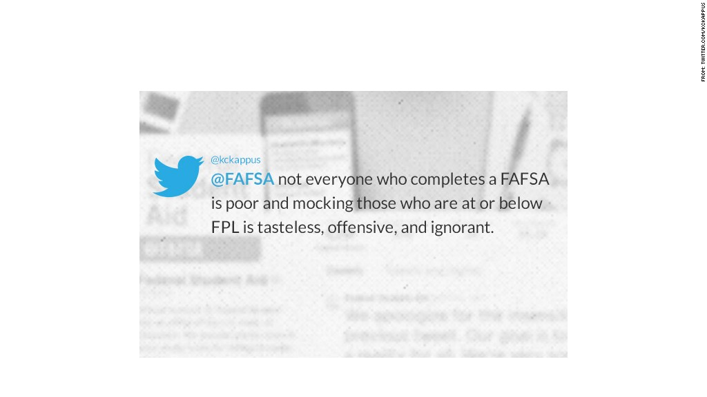 fafsa tweet quote kckappus