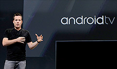 Google touts Android TV, smartwatches and cars