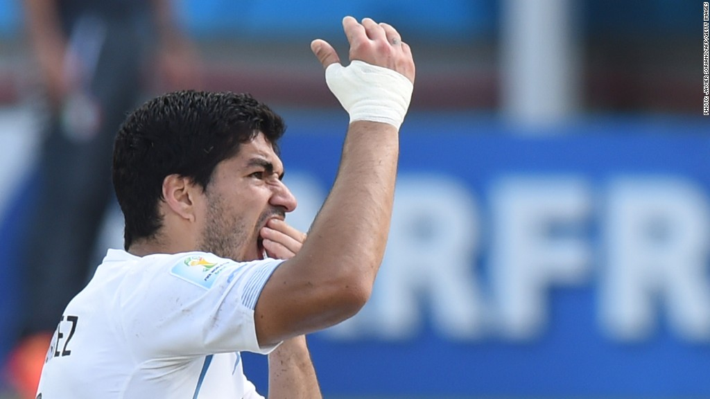 luis suarez world cup