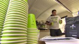 The world's first recyclable coffee cup