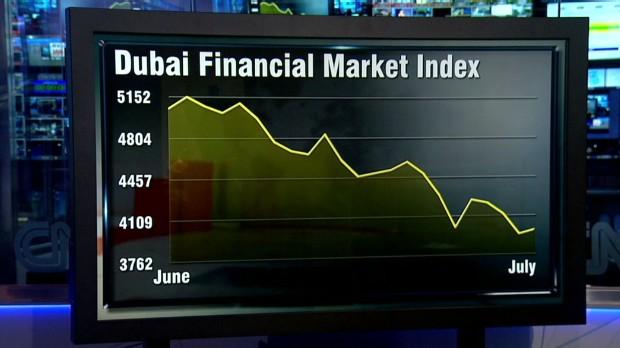 Dubai's dismal month: Market dives 22%