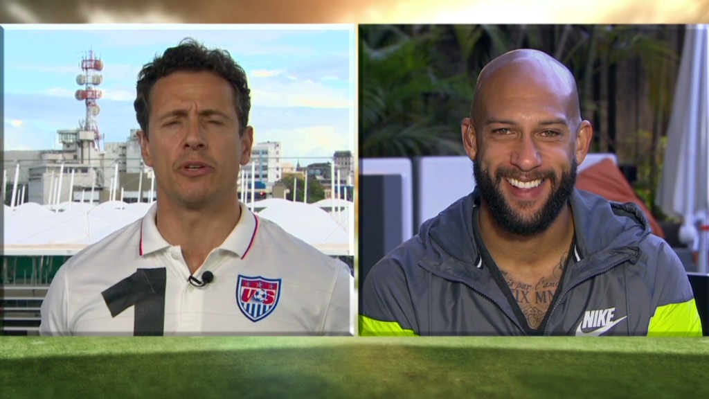 1-on-1 with Tim Howard, America's new hero