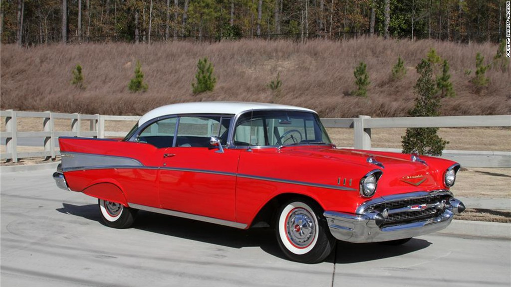 1957 Chevrolet Bel Air - 21 most iconic American cars - CNNMoney
