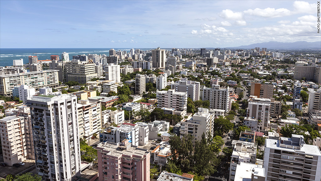 puerto rico downtown