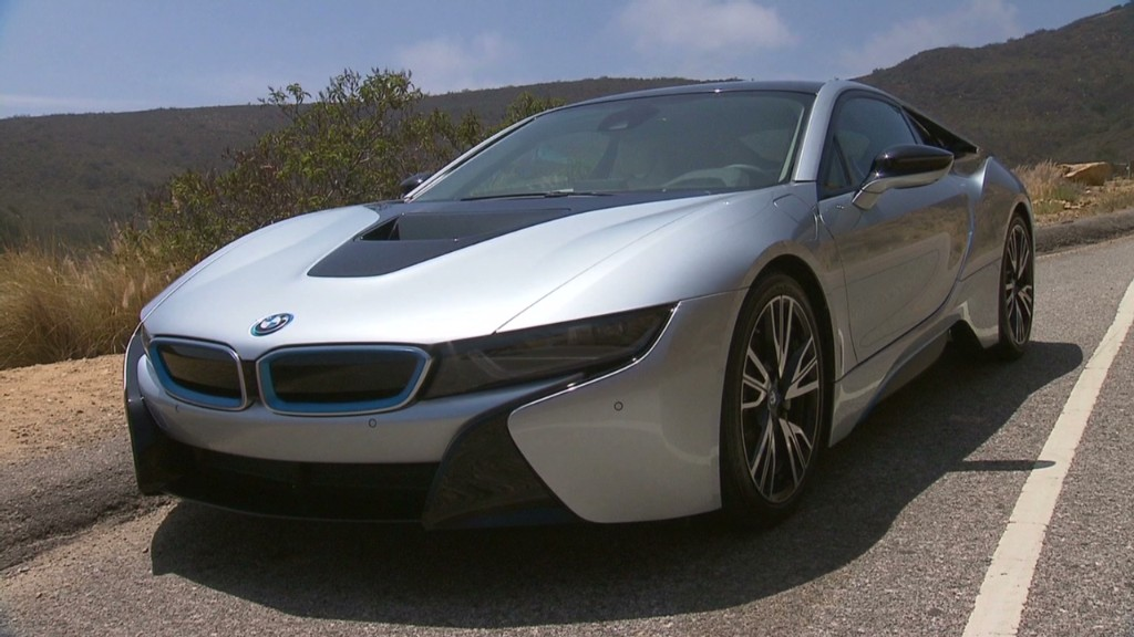 BMW i8 plug-in with sci-fi design