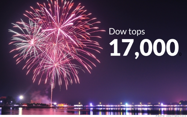 fireworks dow tops 17000