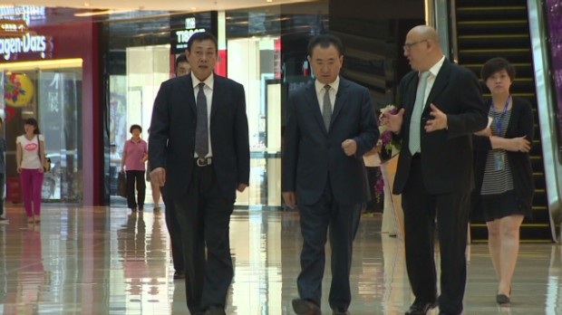China's richest man going global