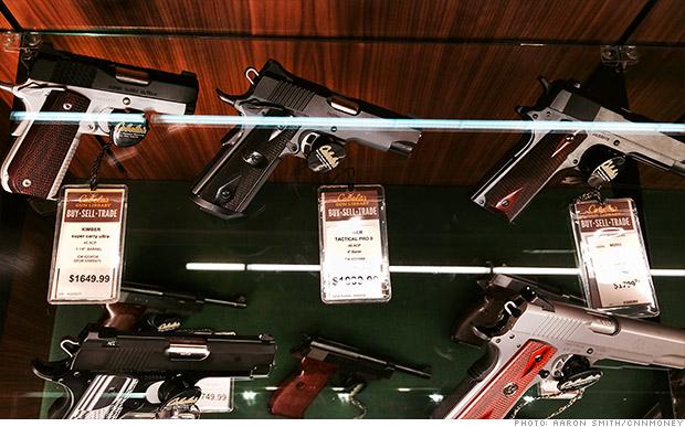 declining gun sales