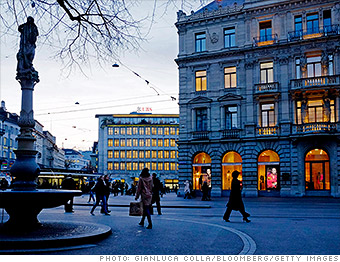 expensive cities abroad zurich
