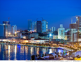 expensive cities abroad angola