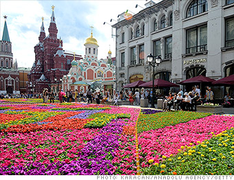 expensive cities abroad moscow