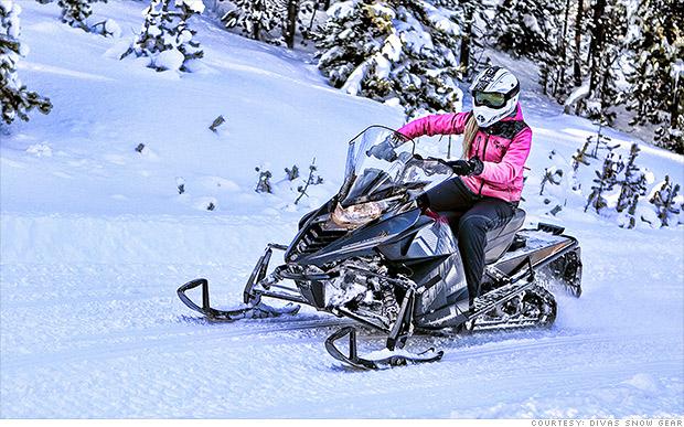social media biz divas snow gear