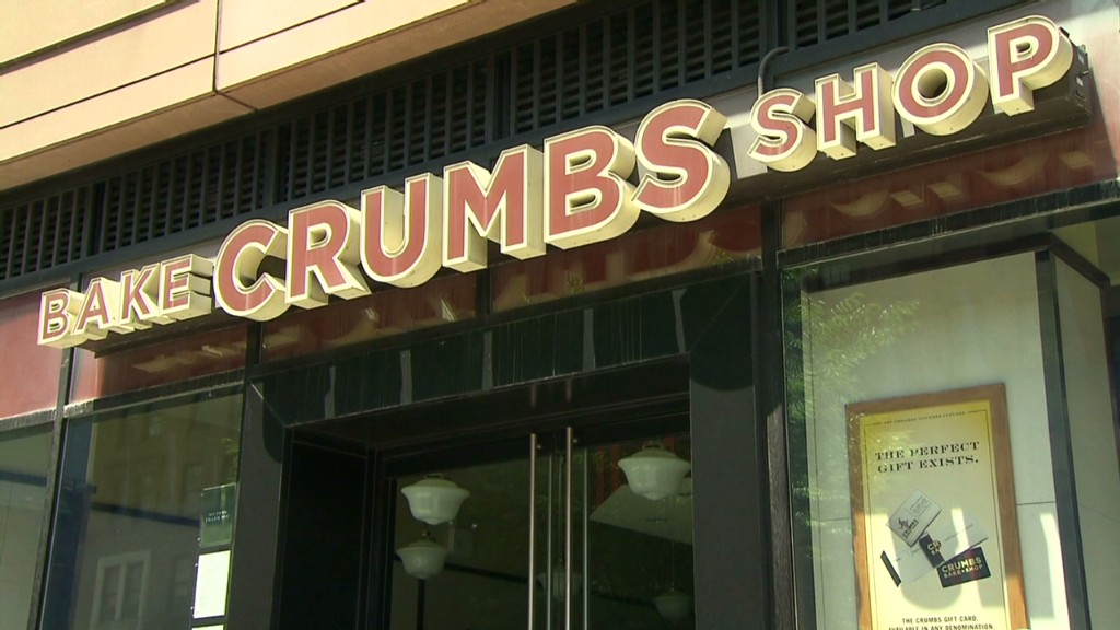 Crumbs: Is the cupcake bubble bursting?