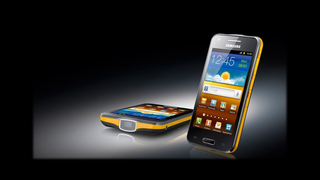 Galaxy beam 5 crazy samsung gadgets cnnmoney for Samsung beam tv