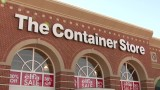 Container Store stock stuck in a box